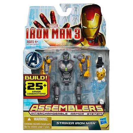 Iron Man 3 Assemblers Striker Iron Man Figure