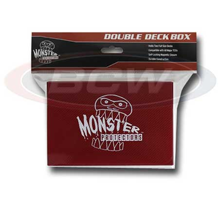 Monster Protectors Double Deck Box- Red