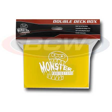Monster Protectors Double Deck Box- Yellow