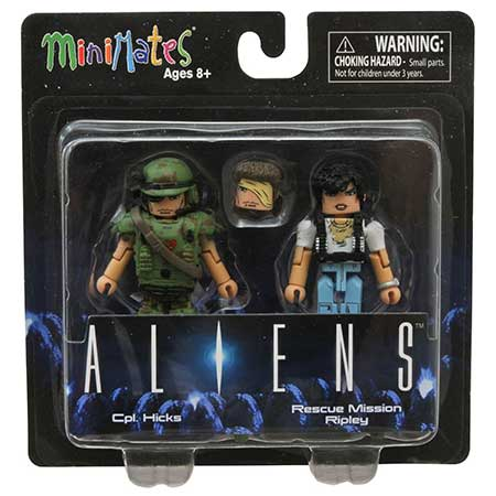 Aliens Minimates Series 1 Cpl. Hicks & Rescue Mission Ripley 2-Pack