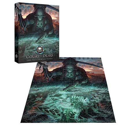 Court of the Dead The Dark Shepherd�s Reflection 1000 Piece Premium Puzzle