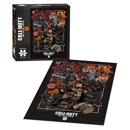 Call of Duty Black Ops 4 Specialist Puzzle