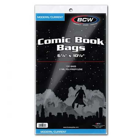 Comic Bags - Current/Modern (100 Count)