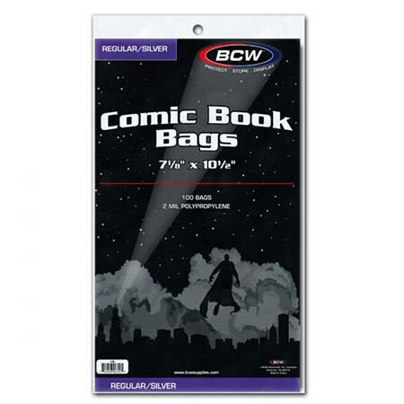 Comic Bags - Silver Age (100 Count)
