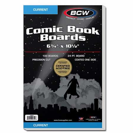 Comic Boards - Current (100 Count)