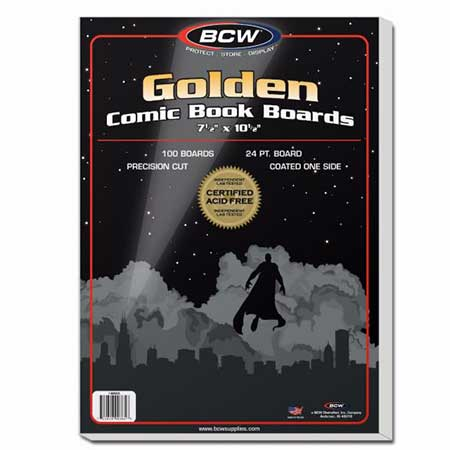 Comic Boards - Golden Age (100 Count)