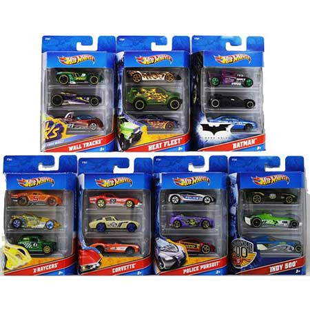 Hot Wheels 3-Pack Assortment (Styles May Vary)