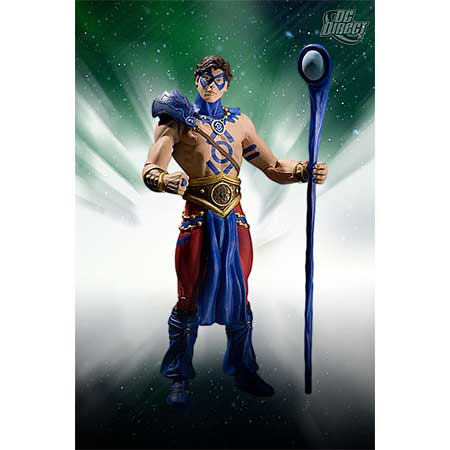 Blackest Night Ser 8 Indigo Tribe Atom Of Action Figure