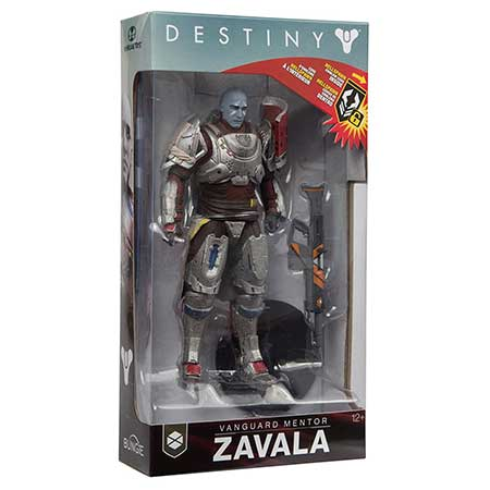 Destiny 2 Zavala Collectible Action Figure