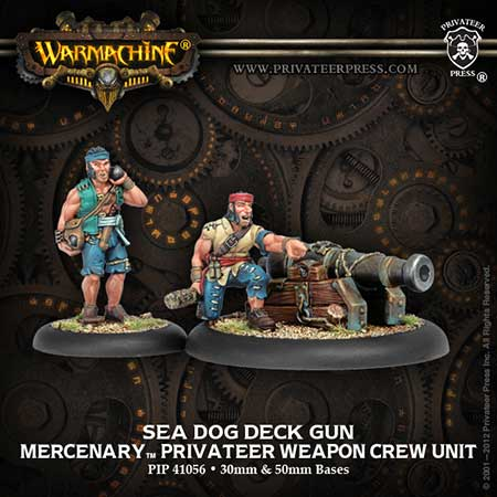 Mercenaries: Sea Dog Deck Gun