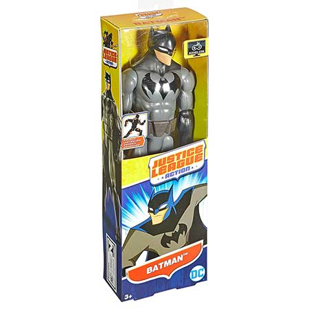 DC Comics Justice League Action Batman Figure, 12
