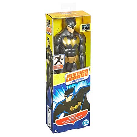 DC Comics Justice League Action Stealth Shot Batman Figure, 12