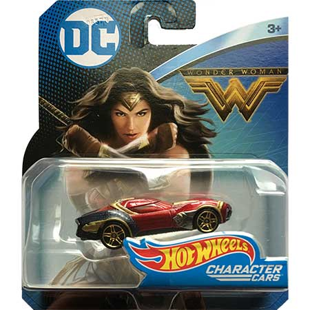 DC Hot Wheels Wonder Woman Character Car
