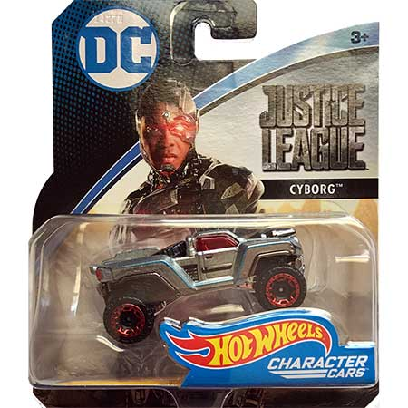 DC Hot Wheels Justice League Cyborg