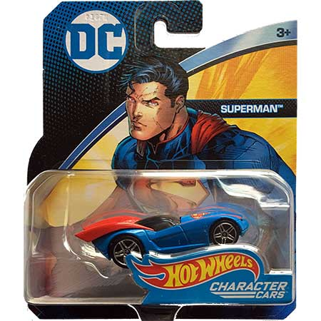 DC Hot Wheels Character Car Superman