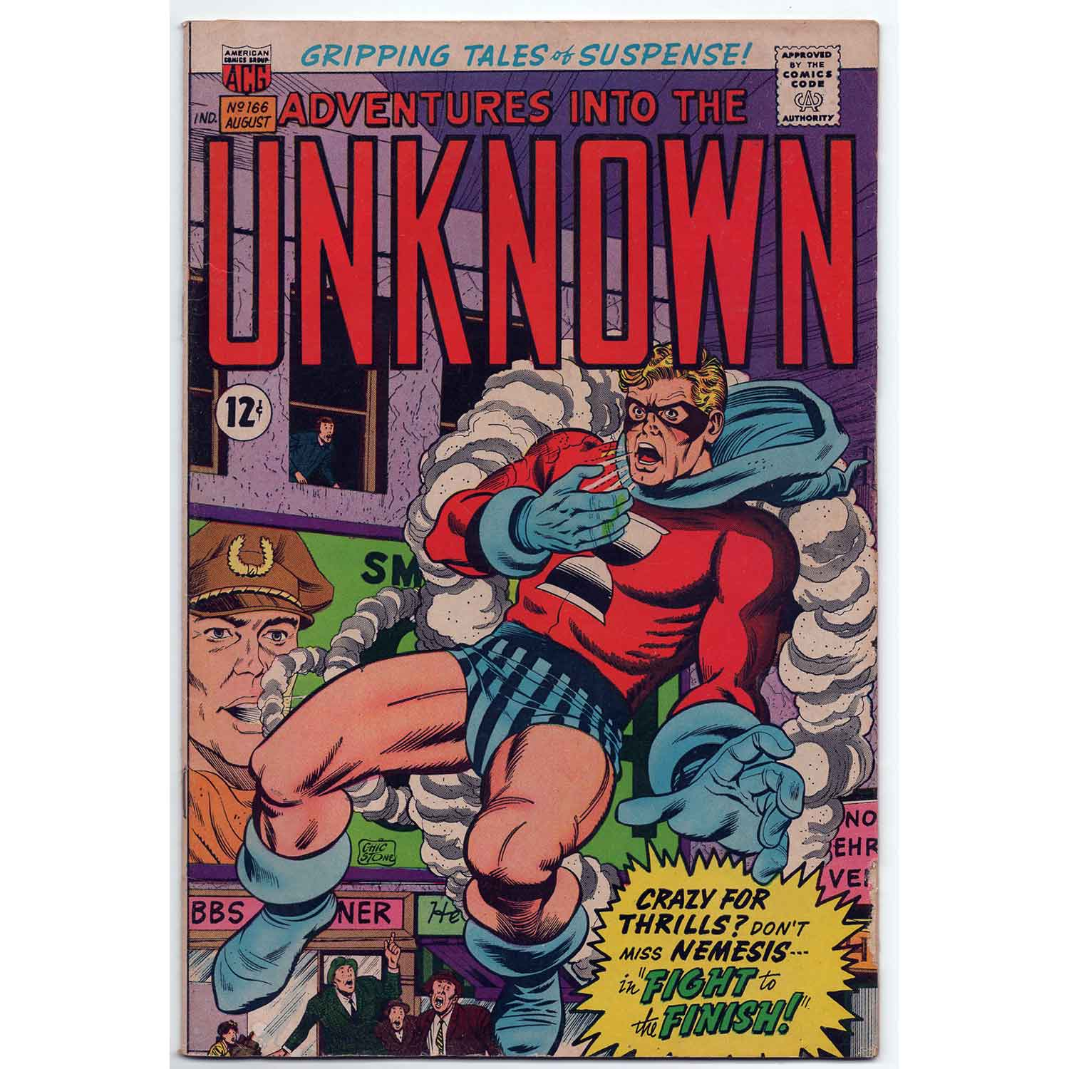 Adventures Into The Unknown #166