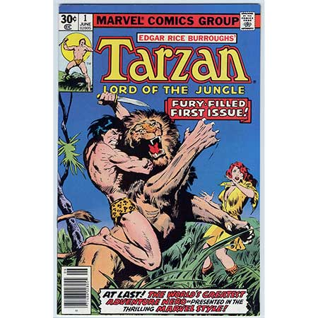 Tarzan, Lord Of The Jungle #01