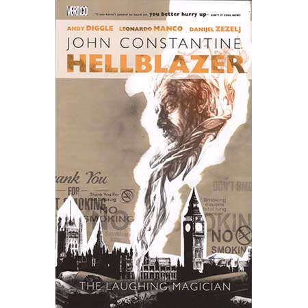 Hellblazer The Laughing Magician