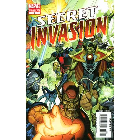 Secret Invasion #2 2Nd Ptg
