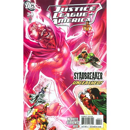 Justice League Of America #34