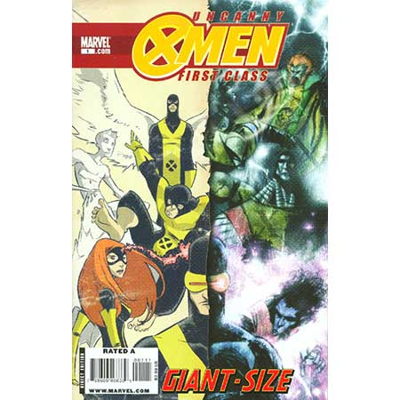 Uncanny X-Men First Class Giant-Size