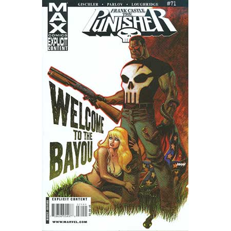 Punisher Frank Castle Max #71