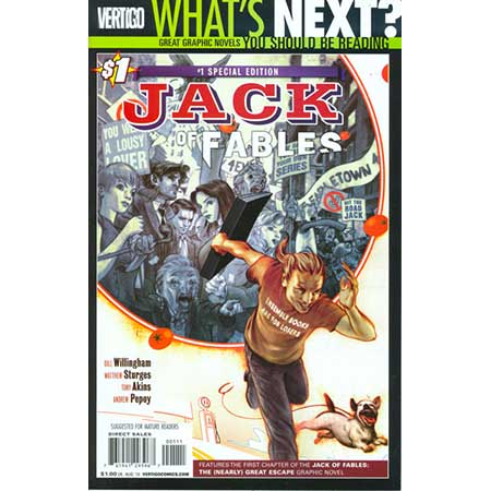 Jack Of Fables #1 New Ptg