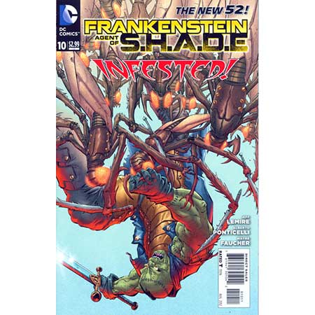Frankenstein Agent Of S.H.A.D.E. #10