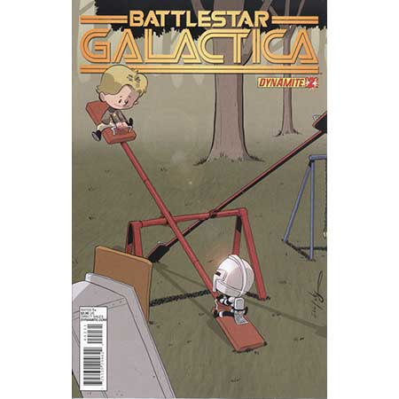 Battlestar Galactica #2 Eliopoulos Subscription Variant