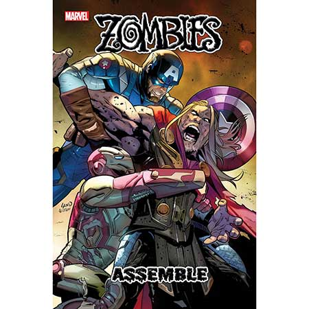 Zombies Assemble #3 Land 1:25 Variant