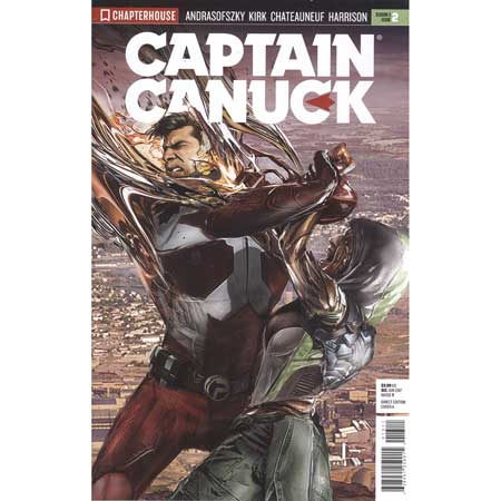 Captain Canuck 2017 #2