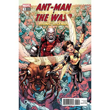 Ant-Man And Wasp Living Legends #1 Nauck Variant