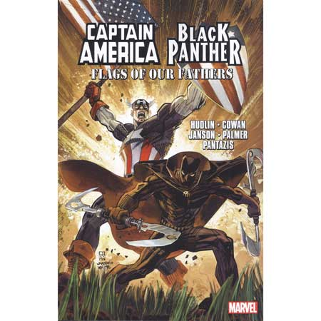 Captain America Black Panther Flags Our Fathers