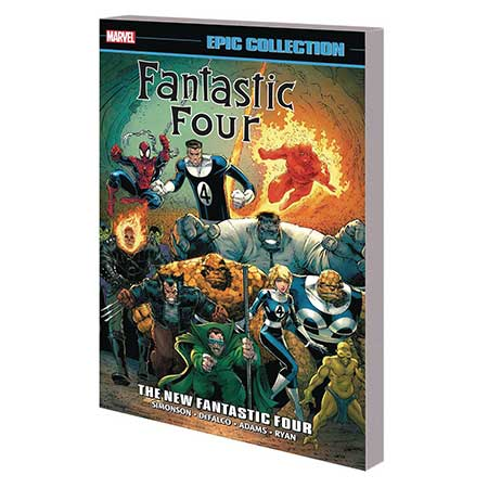 Fantastic Four Epic Collection New Fantastic Four