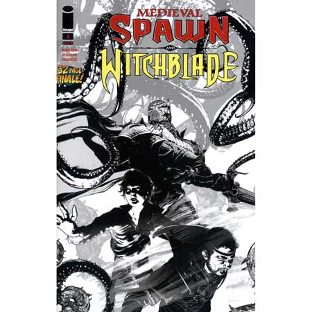 Medieval Spawn Witchblade #4 Cover B