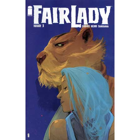 Fairlady #3 Cover B Ward