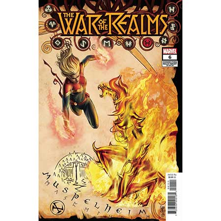 War Of Realms #6 Camuncoli Connecting Realm Variant