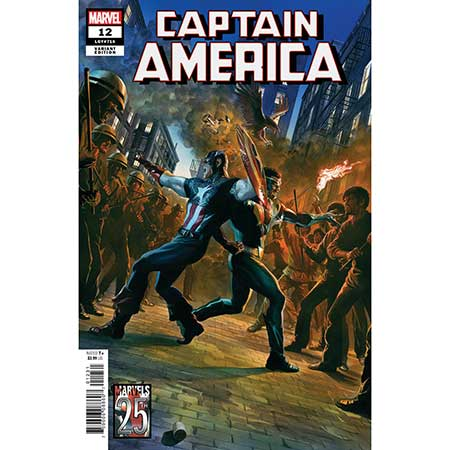 Captain America #12 Alex Ross Marvels 25th Anniversary Variant
