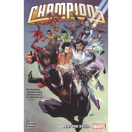Champions By Jim Zub Vol 1 Beat The Devi