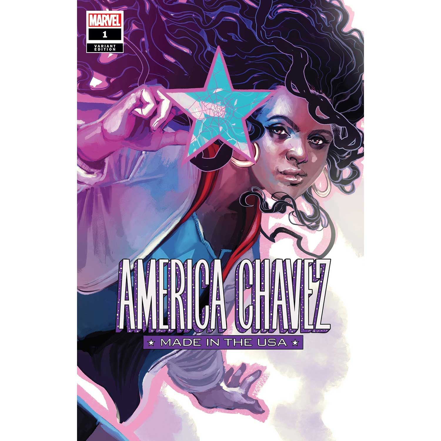America Chavez Made In Usa #1 Hans Variant
