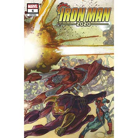 Iron Man 2020 #6 Bianchi Connecting Variant
