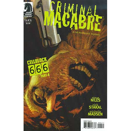 Criminal Macabre Cell Block 666 #4