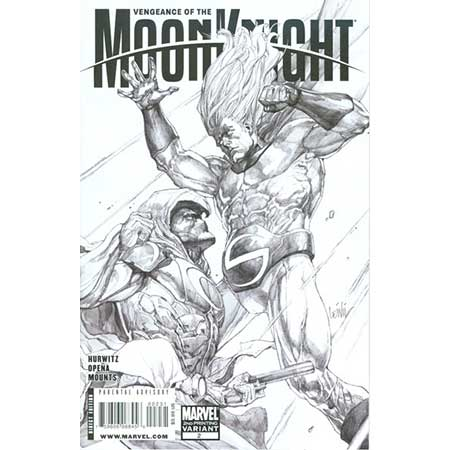 Vengeance Of Moon Knight #2 2nd Ptg