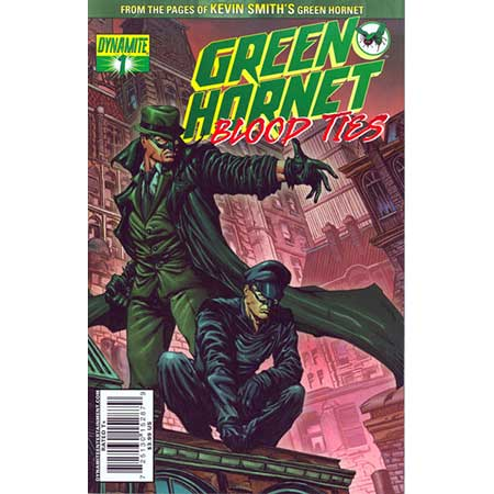 Green Hornet Blood Ties #1