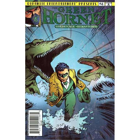 Green Hornet Golden Age Remastered #4
