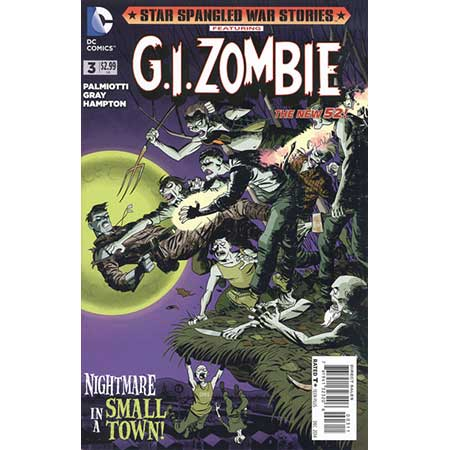 Star Spangled War Stories G.I. Zombie #3