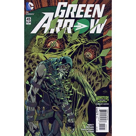 Green Arrow #45 Monsters Variant