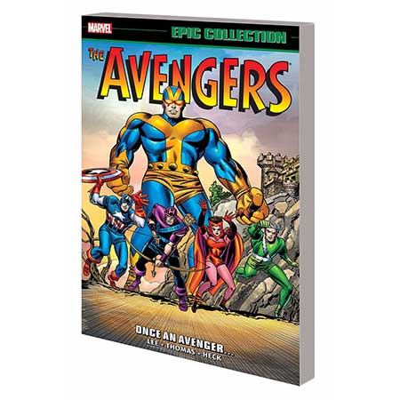 Avengers Epic Collection Once An Avenger