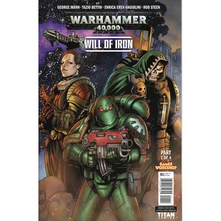 Warhammer 40000 Will Of Iron #1