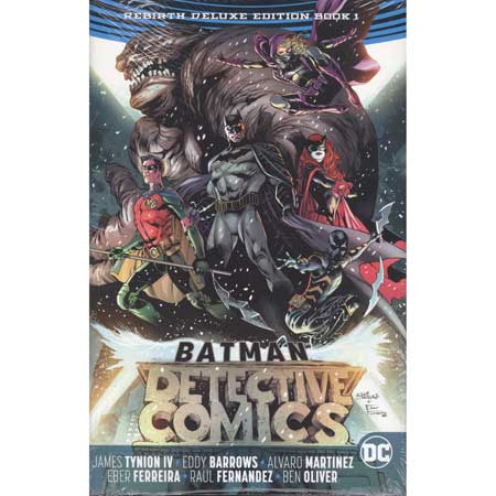 Batman Detective Comics Rebirth Deluxe Collection Book 1